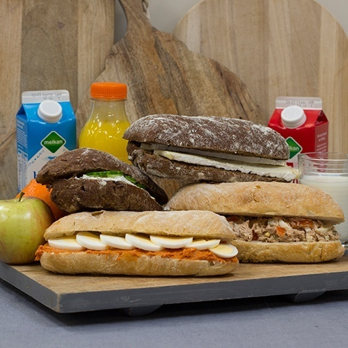 Luxe Lunch (incl. ciabatta en luxe beleg)