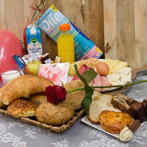Verjaardagsontbijt (Personen: Dame 4 personen)