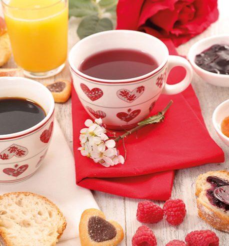 Valentijnsontbijt